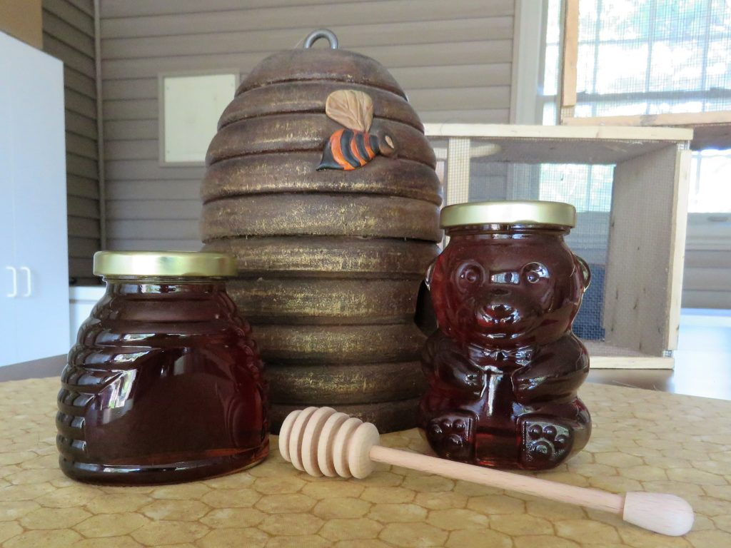 Honey Jar Display