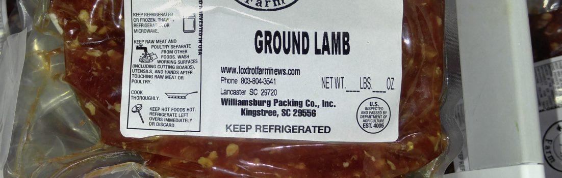 FTF Ground Lamb