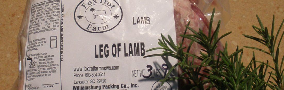 Picture of Fox Trot Farm Leg of Lamb