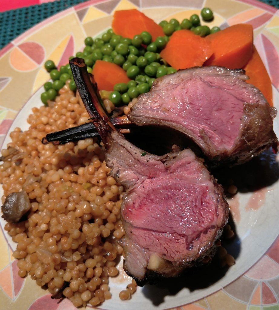 Balsamic & Honey Roasted Rack of Lamb