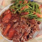 Fox Trot Farm Pot Roast using our pastured lamb