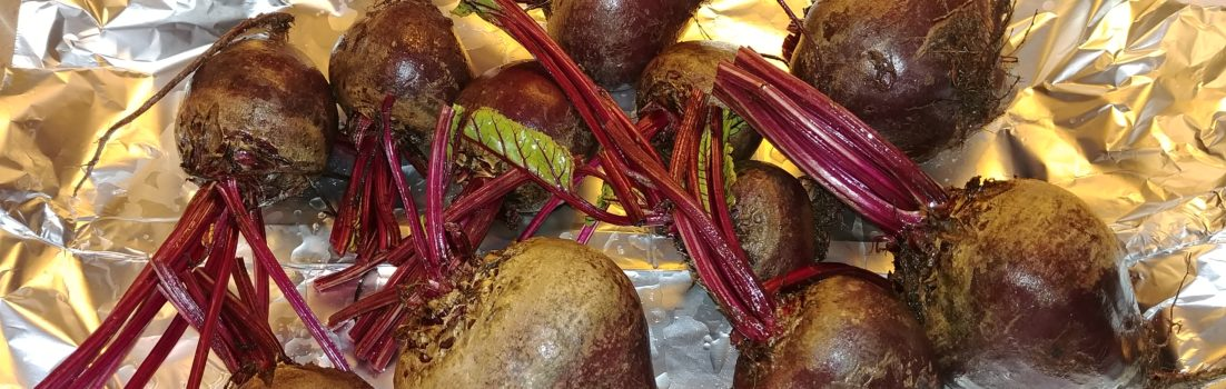 Making Pickled Red Beets