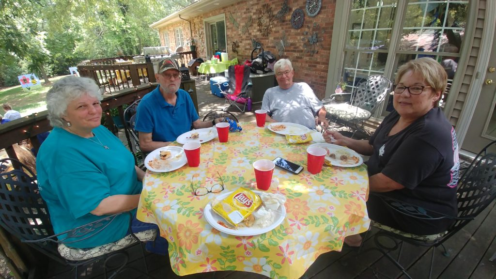 Volunteer Cookout & Family Fishing Day on Fox Trot Farm