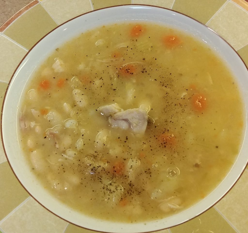 Amish Ham and Bean Soup