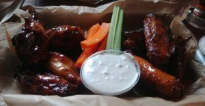 Mac's Speed Shop Smoked Chicken Wings