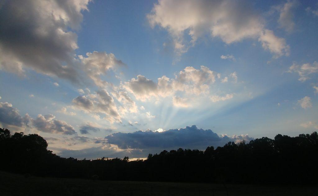 Sunset on Fox Trot Farm