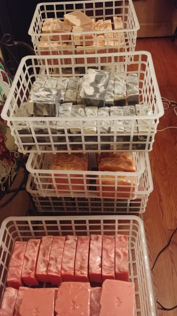 150 Bars of Honey & Beeswax Soap
