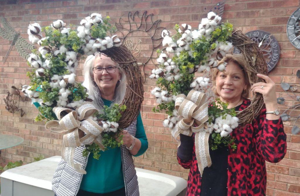 Cotton Bowl Wreaths