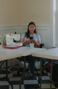 Sheranna at Featherweight retreat