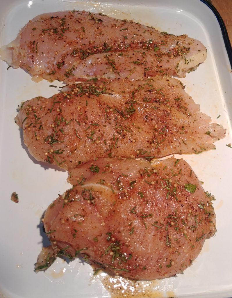 Chicken in Seasoning Mix