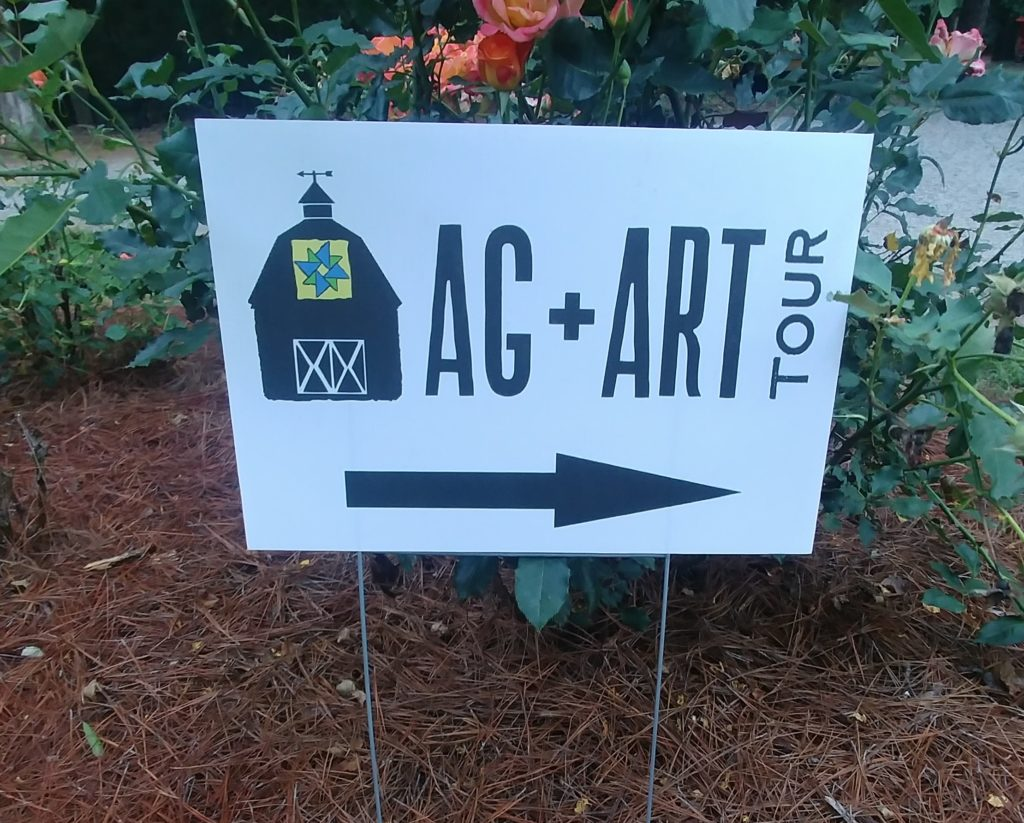 Ag+Art Tour Sign