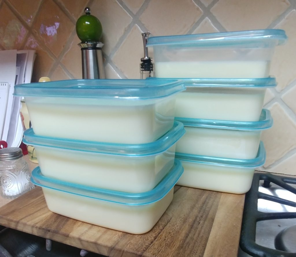 Tallow Packed in Containers